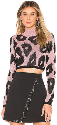 Versus By Versace Cropped Sweater