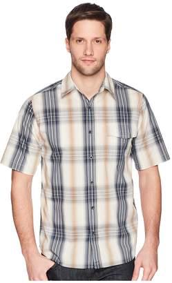 Woolrich Modern Fit Eco Rich Desert View Shirt Men's Short Sleeve Button Up