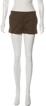 Chloé Mid-Rise Mini Shorts