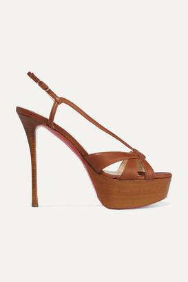 24e978dd855 Christian Louboutin Platform Sandals For Women - ShopStyle UK