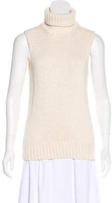 Michael Kors Sleeveless Rib Knit Top