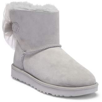 UGG Mini Bailey Bow Genuine Shearling Boot