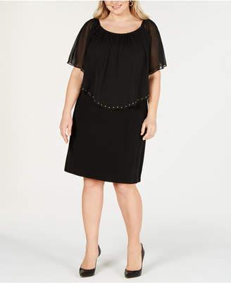 JM Collection Plus Size Convertible Sheath Dress