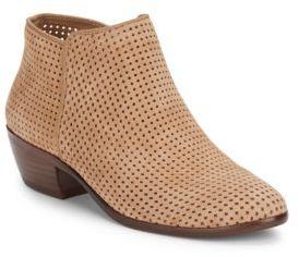 Petty Leather Ankle Boots $150 thestylecure.com