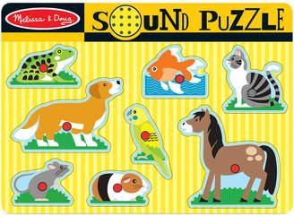 Melissa & Doug Kids Toy, Pets Sound Puzzle