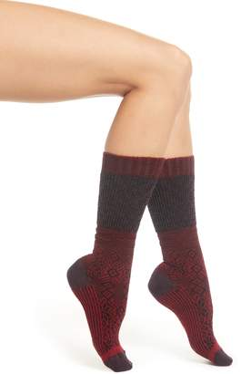 Smartwool Snowflake Flurry Merino Wool Blend Socks
