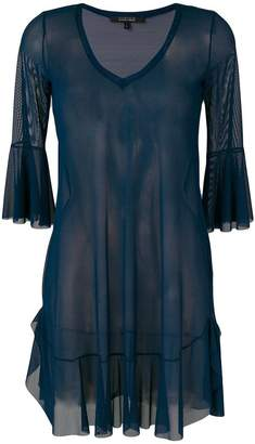 Fisico sheer beach dress