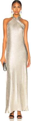 Pandora Galvan Metallic Dress