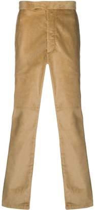 MAISON KITSUNÉ straight leg corduroy trousers