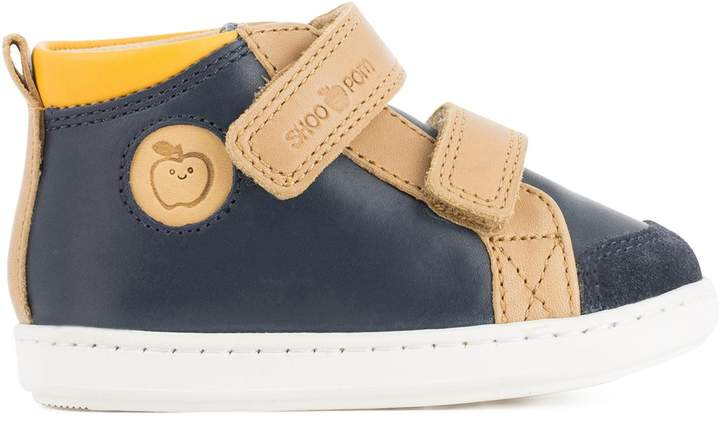 REDOUTE TEEN S BOUBA SCRATCH Leather High Top Trainers