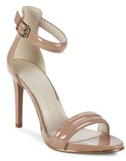 Kenneth Cole New York Brooke Patent Leather Ankle-Strap Sandals