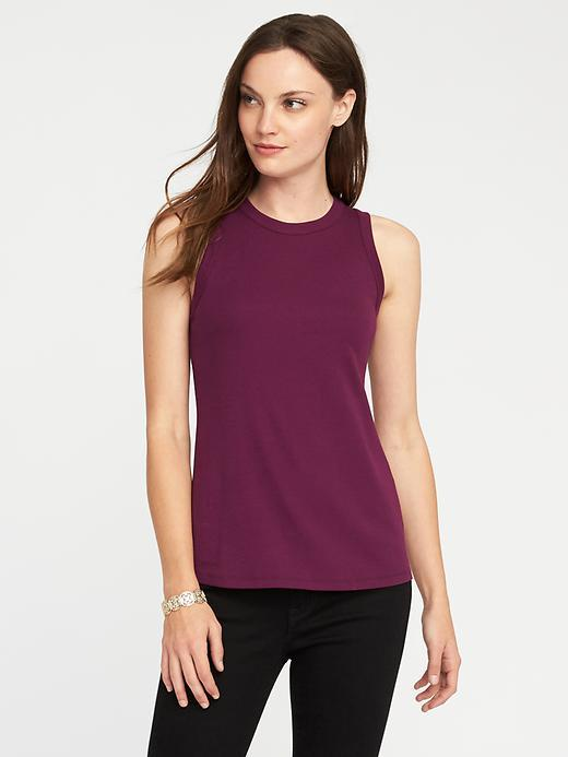 Classic Semi-Fitted Tank for Women