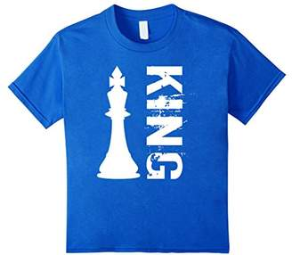 Couples Matching T-shirt: Chess King for Men