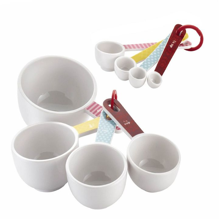 Cake BossTM Countertop Accessories 8-pc. Measuring Cup & Spoon Set