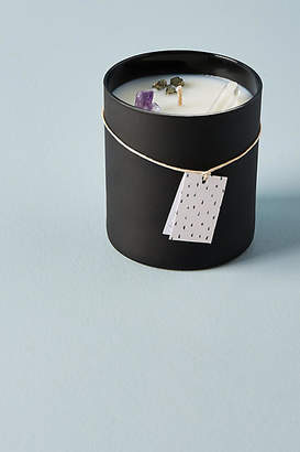Anthropologie Well Done: Wellness by Well Done Crystal Candle