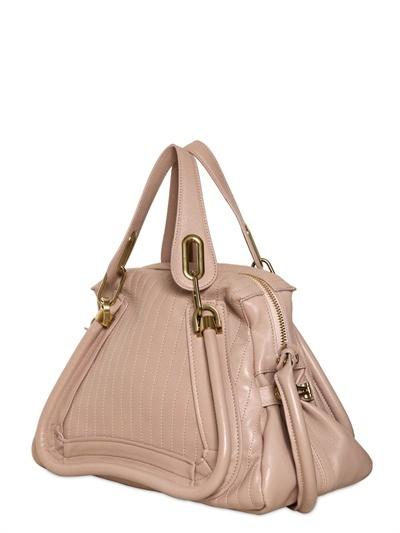 Chloé Medium Paraty Stitched Leather Bag