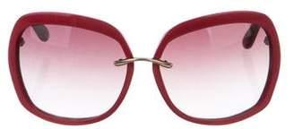 Gucci Ksiyt Oversize Gradient Sunglasses