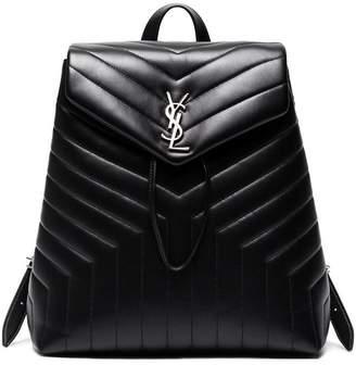 Saint Laurent Lou Lou Matelassé Leather Backpack