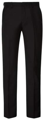 Burton Mens Black Essential Tailored Fit Suit Trousers