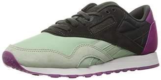 Reebok Women's CL Nylon CB Fashion Sneaker $24.29 thestylecure.com