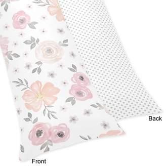 JoJo Designs Sweet Floral Body Pillow Case
