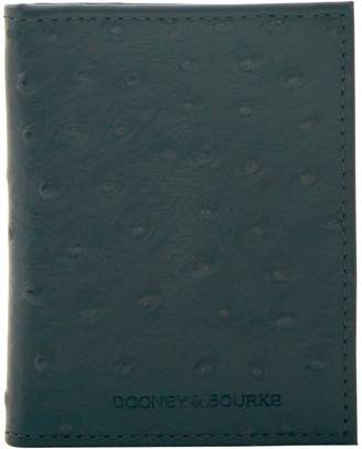 Dooney & Bourke Ostrich Multifunction Money Clip