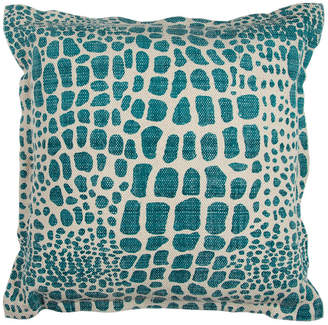 """Rizzy Home 22"""" x 22"""" Animal Print Poly Filled Pillow"""