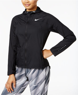 Nike Impossibly Light Hooded Running Jacket $90 thestylecure.com