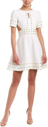 Avantlook Embellished A-Line Dress