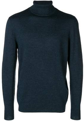 A.P.C. knitted roll neck sweater
