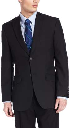 Haggar Men's Stripe Tailored Fit Two Button Suit Separate Coat
