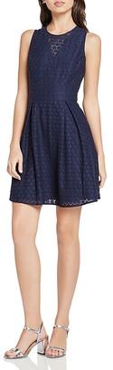 BCBGeneration Honeycomb Lace Dress $108 thestylecure.com
