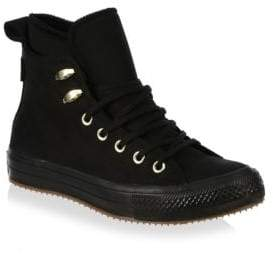 Converse High-Top Leather Sneakers