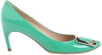 Roger Vivier Green Patent leather Heels