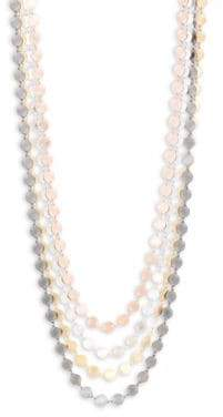 Rosegold 22K Gold and Multi-Strand Necklace