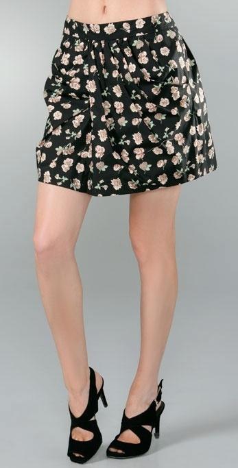 Thakoon Draped Front Skirt