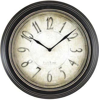 Co Firstime & Firstime & Firstime and Distressed Plastic Wall Clock