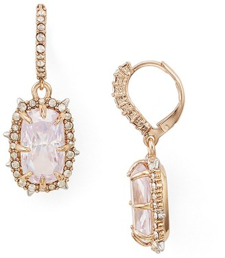 Alexis Bittar Crystal Leverback Drop Earrings $175 thestylecure.com