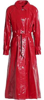 Isabel Marant Belted Coated Cotton Trench Coat