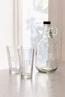 Urban Outfitters To-Go Growler + Pint Glass Set