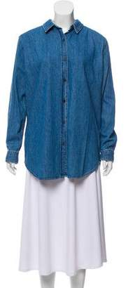 MiH Jeans Denim Button-Up Shirt w/ Tags