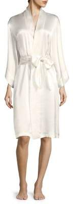 Natori Key Essentials Silk Robe
