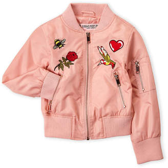 Urban Republic Girls 4-6x) Embroidered Bomber Jacket