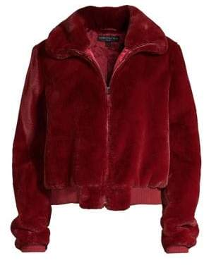 Generation Love Heidi Faux-Fur Bomber Jacket