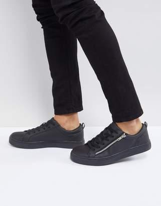 Brave Soul Oscar Sneakers In Black