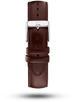 About Vintage - Dark Brown Leather Strap & Steel