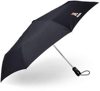 Moschino Auto Open Black Teddy Umbrella