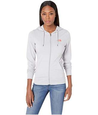 3bbb3c56 The North Face Lightweight Tri-Blend Full Zip Hoodie