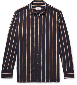 Dunhill Striped Jacquard Shirt