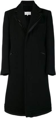 Maison Margiela deconstructed single breasted coat